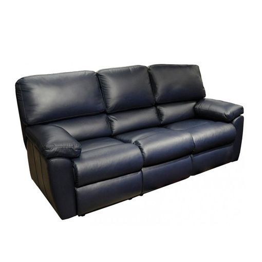 Omnia Vermont Leather Reclining Sofa