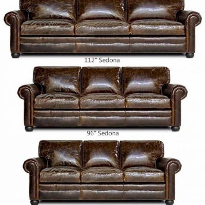 seSedona d(Lancaster) Oversized Leather Sofa Set
