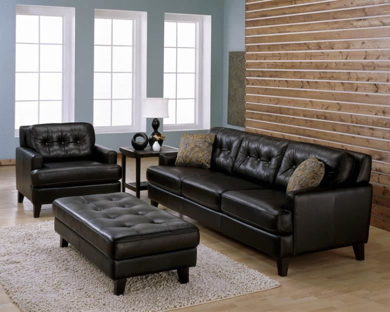 Palliser Barbara Leather Sofa Set