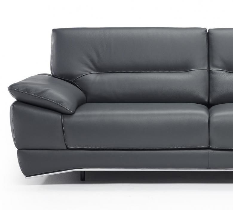 Natuzzi Editions B893 Leather Sofa Set