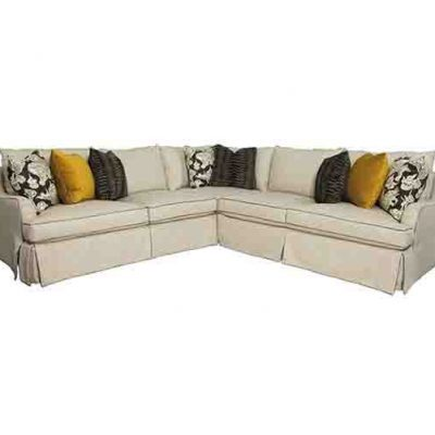 BERNHARDT HOLLIS 3 PIECE SECTIONAL