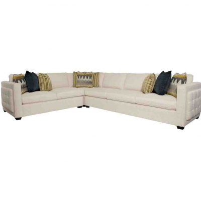 BERNHARDT LUCERNE 3 PIECE SECTIONAL