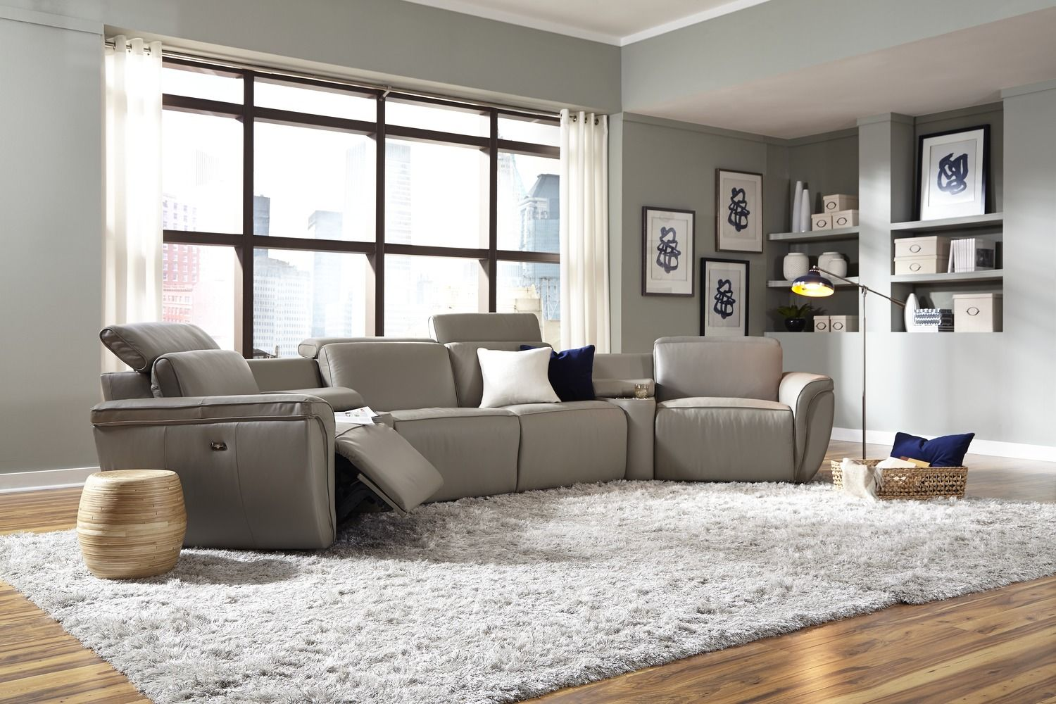 palliser shorecrest sectional