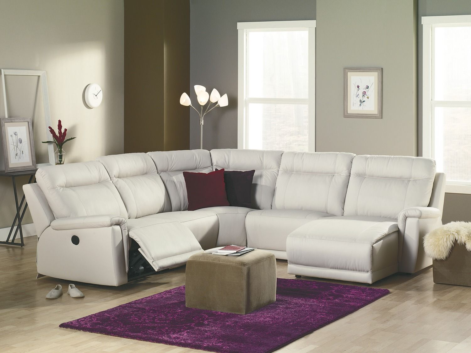 room palliser westpoint sectional set
