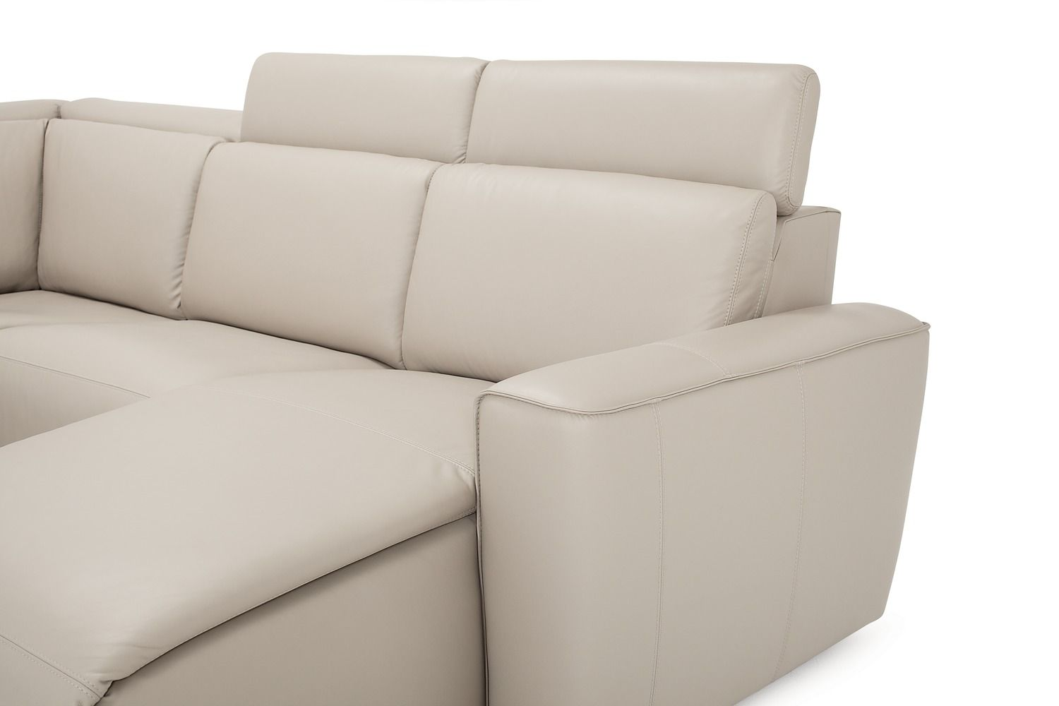cream palliser springfield sectional sofa